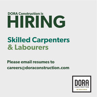 Hiring: Carpenters & Laborers