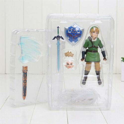 The Legend of Zelda Skyward Sword Link Figure Figma 153 Collection Toy in Box