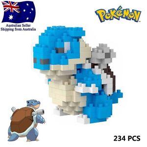 Blastoise Pokemon Go LNO Micro BLOCK Loz Building Lego Nano blocks mini Pokémon