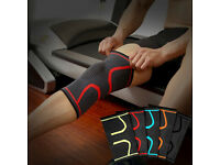 Knee Support Brace Compression Sleeve Arthritis Running Gym Sports Protector