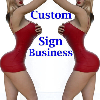 Custom Sign Business For Sale Building Diagrams And Instructions
