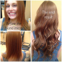 NANO MICRO BEADS HAIR EXTENSIONS, @ON EDGE ACADEMY OF HAIR.