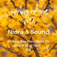 Yoga Nidra and Sound Healing St. Margaret's Bay
