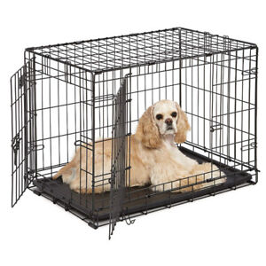 30 inch Medium Double Door Dog Crate