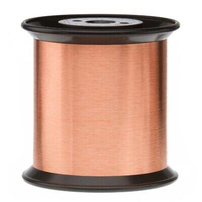 38 Awg Gauge Heavy Copper Magnet Wire 5.0 Lb 96800 Length 0.0049 155c Nat