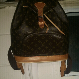 Louis Vuitton back pack from the 80s