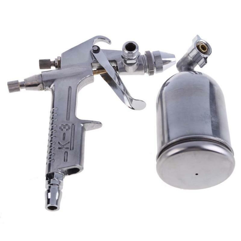 Sprayer Air Brush Alloy Painting Paint Tool 125ml Gravity Feed Magic Spray Gun