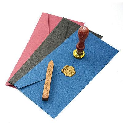 Vintage Colorful Letter Paper Bag Mini Envelopes Invitation Stamp 51050pcs Set
