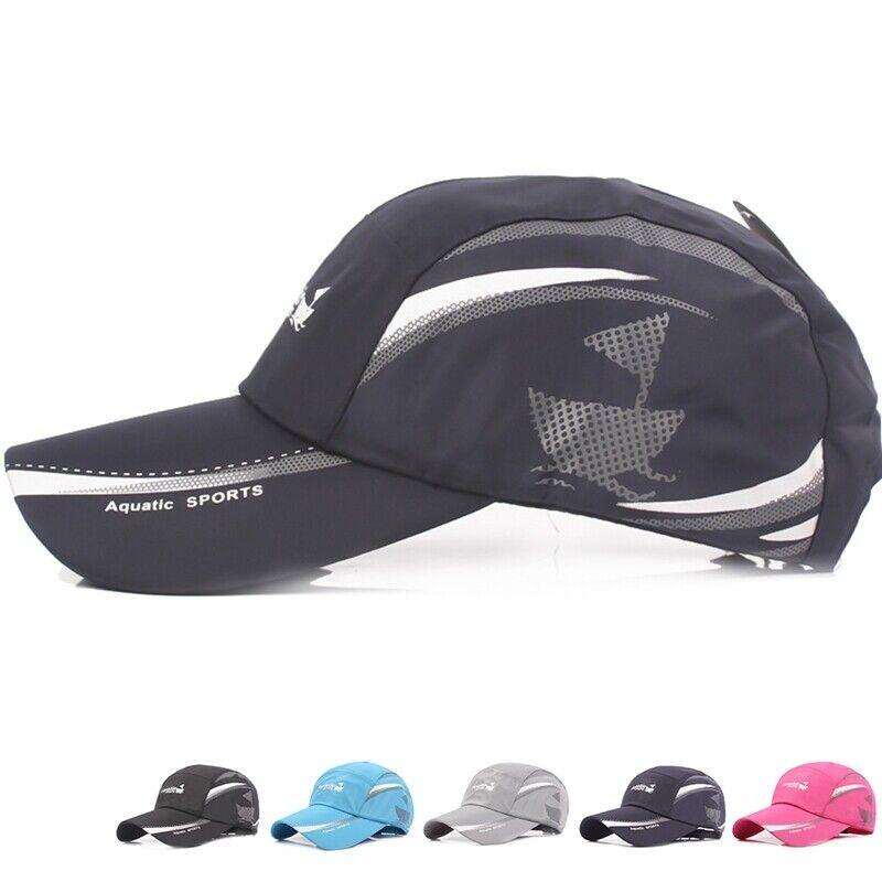 Quick Dry Waterproof Men Sport Duck Tongue Sun Hat Outdoor Trend Baseball cap