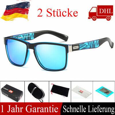 Polarisierte Fahrsonnenbrille Square Sport Radfahren Frauen Männer UV400 Brille