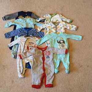 Boys 6mth sleepers (sold as a set)