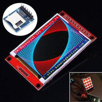 2.4 Inch Tft Lcd Touch Screen Shield W Mini Sd Card Memory Module For Arduino