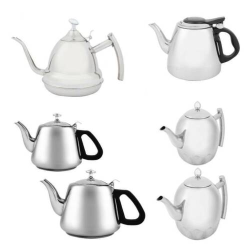 Tea Kettle Water Pot Stainless Steel Teapot For Stove Top Fa