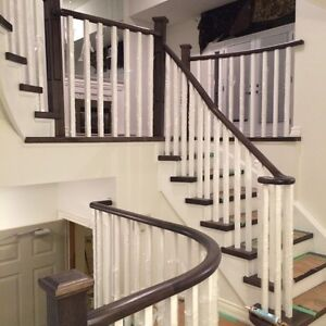 Canadian Red oak Staircase Treads on sale