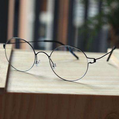 Black Titanium Round Steve Jobs Glasses mens HARRY POTTER Eyeglasses eyewear](Steve Jobs Glasses)