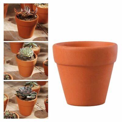 10Pcs Small Mini Clay Ceramic Terracotta Pot Plant Pots for Wedding Favor Orange](Small Pots For Plants)