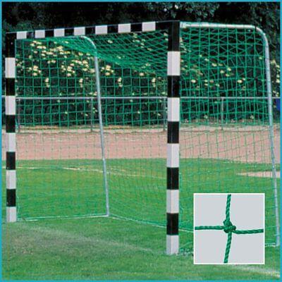 Kleinfeld Fußball Handball Tornetz Netz 3 x 2 m, Tiefe 0,80 / 1,00 m, gekn. 3 mm