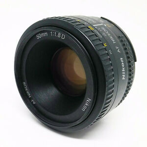 Nikon AF 50mm f /1.8 Lens : Very Good Condition