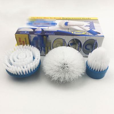 3 Stück für Hurricane Spin Scrubber  Ersatzbürsten Putzen Schrubben
