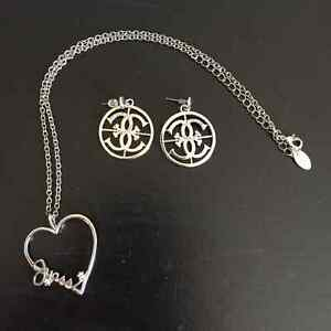 Guess Necklace and earrings