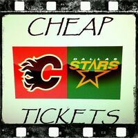 ★★ FLAMES vs. STARS Dec 1 ★★ ● ● HARD COPY TIX ● ●