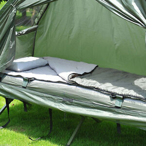 4in1 Portable Hiking Camping Tent Air Mattres Colt Combo Air Pum