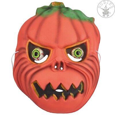 Kindermaske Halloween Kinder Maske Grusel Karneval Fasching (Gruselige Kürbis)