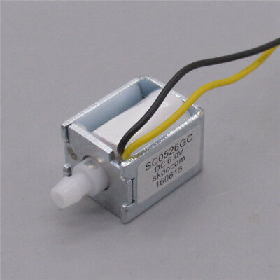 Dc 6v Micro Electric Solenoid Valve Nc Normally Closed Mini Air Flow Pump Valve