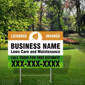 Coroplast Lawn Signs - Cheap Printing Excellent Quality