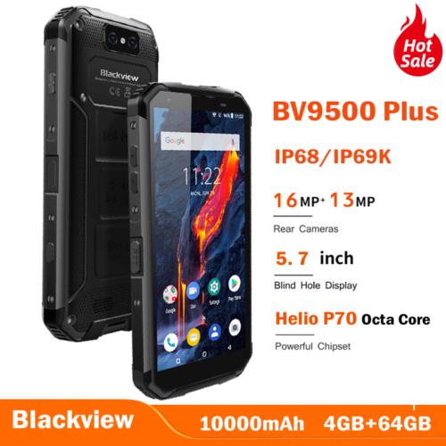 Blackview Helio P70 10000mAh BV9500 Plus Smartphone Waterpro