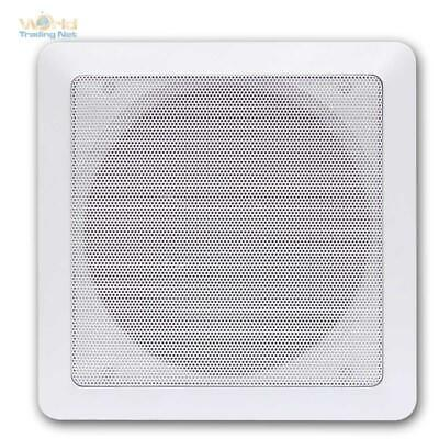Built-In Speaker 2-way Coaxial 165mm, Rectangular, Wall Recessed Ceiling -
