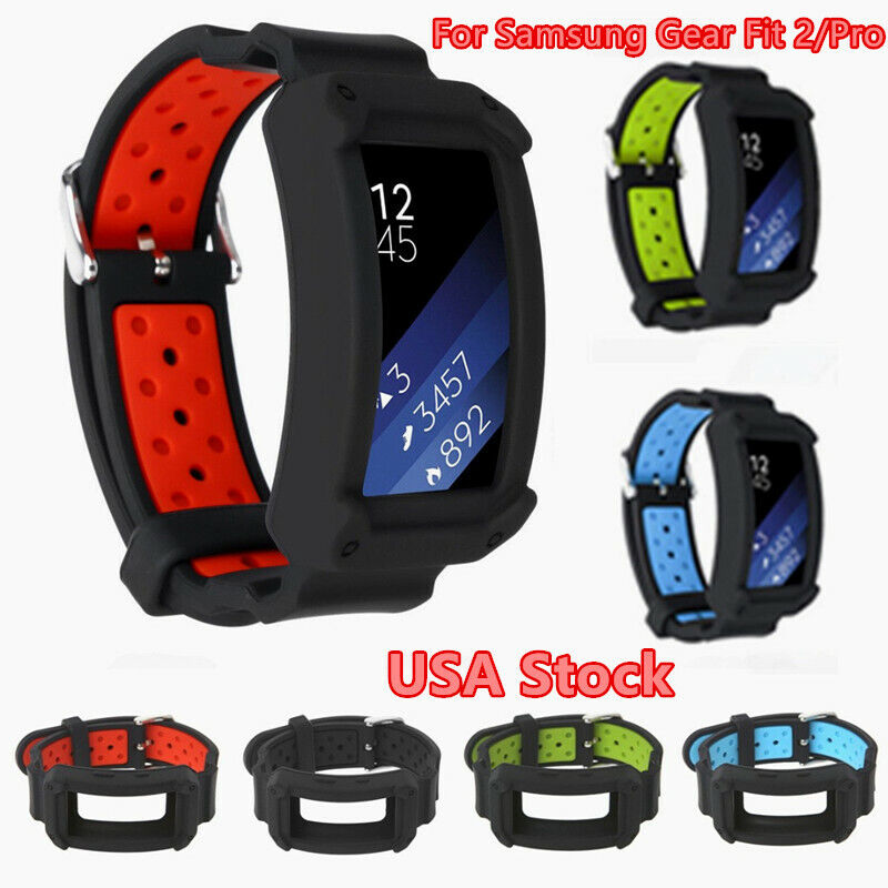 For Samsung Gear Fit 2/Pro Smart Watch Replacement Silicone