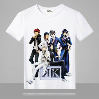 Cosplay K Project Anime Manga T-Shirt Kostüme Polyester - K Project Cosplay Kostüm