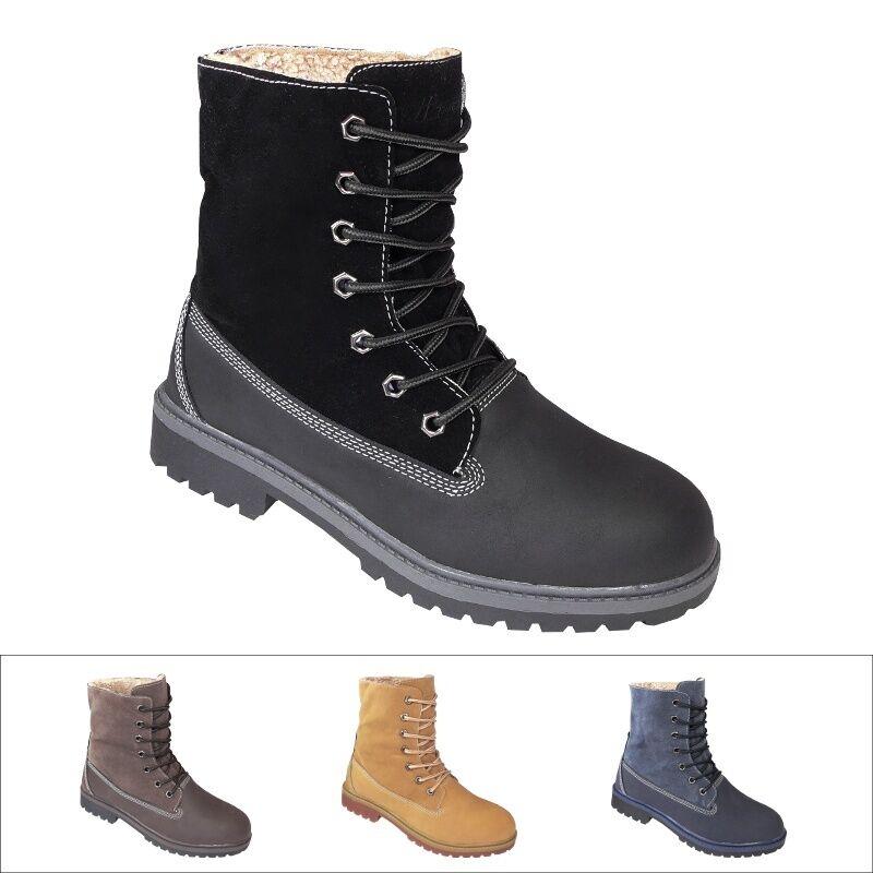 Timberland Bradstreet Herren Stiefel Boots Winterschuhe Ca1jym Schwarz