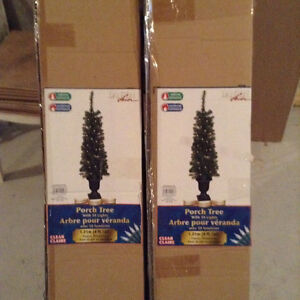 Two Brand New Indoor/Outdoor Porch Trees - reduced