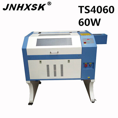Ts4060 Laser Engraving 60w Engraver Cutter Machine For Sale Acrylic Plywood Mdf