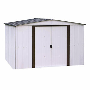 10 ft. x 8 ft. Steel Shed for rent