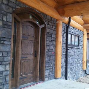 Stucco and stone fashion design houses Edmonton Edmonton Area image 9
