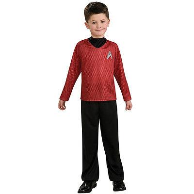 Star Trek Movie Scotty Red Shirt Costume - Child Size Medium 8-10 nwt