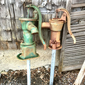 Antique Water Pumps - Beatty