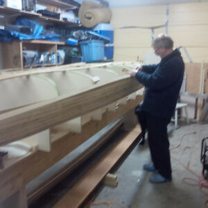 STRONGBACK to build 15' canoe