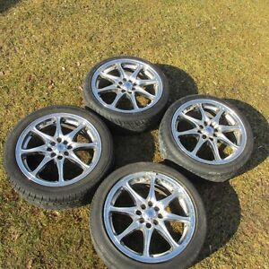 "17"" Konig Rims & tires  --       4x100 & 4x114.3"