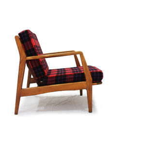 Mid Century Modern Lounge Chair Designed by Kofod Larsen
