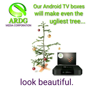 NEW! ANDROID TV 2GB BOX! PERFECT CHRISTMAS GIFT!