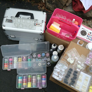Equipement pour pose d ongles