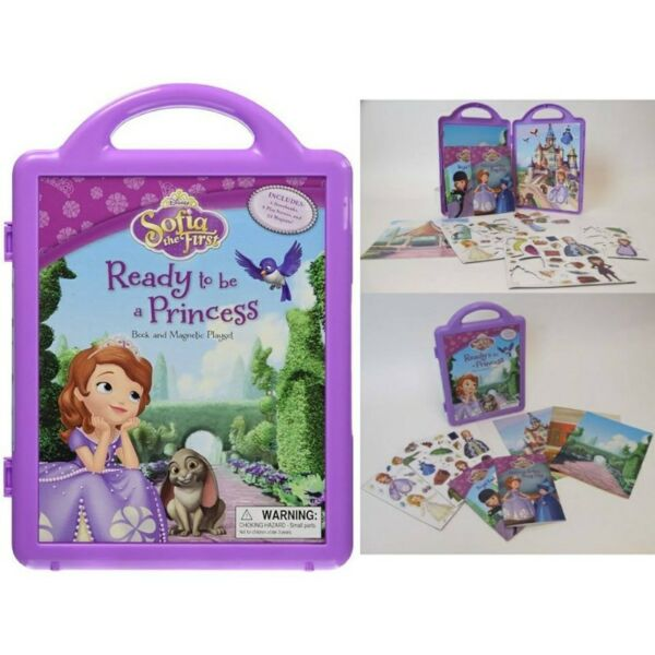 BNIP: Disney Sofia the First Ready to be a Princess: Book and Magnetic Playset