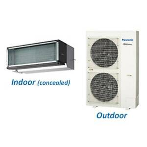 15.5kw $4000 Inc NEW PANASONIC DUCTED INVERTER AIR CONDITIONER Indooroopilly Brisbane South West Preview