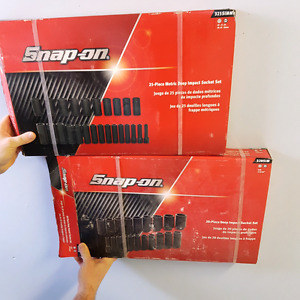 (2) Brand new snap on Socket Sets