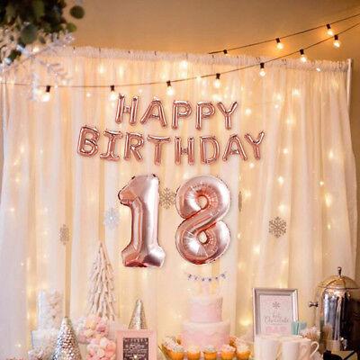60th Rotgold Happy Birthday Folienballons Selbstaufblasen DE (Happy Birthday 40th)