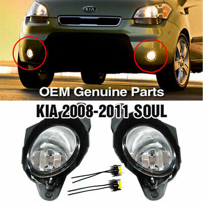 OEM Genuine Parts Fog Light Lamp + wire sets For KIA 2008 2009 2010 2011 Soul